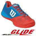 Wilson(ウイルソン)テニスシューズ RUSH PRO GLIDE MEN'S(ラッシュプロ・グライド)WRS320400U+ ※紹介動画有