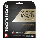 Tecnifibre(テクニファイバー) ストリング X-ONE BIPHASE(エックス・ワン・バイフェイズ) 1.24(TFG901) 1.30(TFG90...
