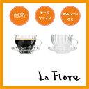 脅威の軽さ♪耐熱グラス(シングル) コーヒーカップ&ソーサー【炭酸水】
