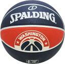 SPALDING(スポルディング) バスケットボール ワシントン ウィザーズ SIZE7号 バスケット ボール 71037