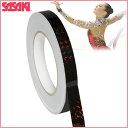 ササキスポーツ(SASAKI) 新体操 デコレーション グッズ ミラクルテープ・ブラック(ホログラム加工) HT-5【RCP】 【送料無料】