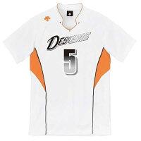 DESCENT(デサント)半袖ゲームシャツ(ユニセックス) DSS-4823 [ DSS4823-WOR ]の画像
