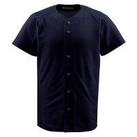DESCENT(デサント) フルオープンシャツブラック 【ユニセックス】[ DB1010-BLK ]の画像
