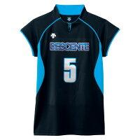 DESCENT(デサント) フレンチスリーブゲームシャツ 【ユニセックス】[ DSS4430-BBL ]の画像