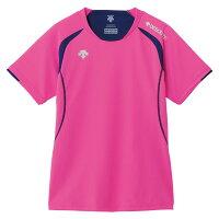 DESCENT(デサント) 半袖ライトゲームシャツ(WOMENS) 【レディース】[ DSS5421W-PPK ]の画像