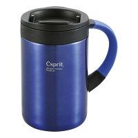 CAPTAINSTAG(キャプテンスタッグ) シーエスプリダブルステンレスマグカップ350(ブルー) [ M5377 ]の画像