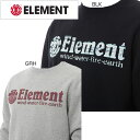 エレメント(ELEMENT) ウェア HORIZONTAL ELITE CR トレーナー【AH022001】メンズ