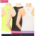 ササキスポーツ(SASAKI) 新体操 ウェア Yバックトップ(ルーズFIT・カップポケット付き) 7048