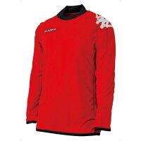 17FW カッパ(Kappa) ゴールキーパー ゲームシャツ FMJG7019 FMJG7019-R【RCP】 【送料無料】の画像