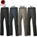 MAMMUT(マムート) ボトムス パンツ SOFtech TREKKERS Pants Men 1020-09760 (日本限定)【メンズ】【RCP】 【送料...