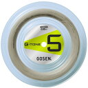 GOSEN(ゴーセン) バドミントン ストリングス G - TONE5 ナチュラル 100 mロール バドミント ガット BS0651NA