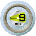 GOSEN(ゴーセン) バドミントン ストリングス G - TONE 9 100 mロール ナチュラル バドミント ガット BS0691NA