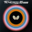 Butterfly(バタフライ) テナジー05ハード タマス卓球 ラバー ブラック・レッド BF-06030(あす楽即納)