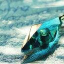 ショッピングメモリアル 『かんたん封入ペンダント / Standard Dreamblue(ターコイズブルー)』 ガラスアクセサリー ネックレス・ペンダント 立体造形タイプ