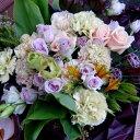 ファビエラ花束■花 アレンジメント 花束 ローズ ばら 薔薇 記念日 結婚祝い 贈り物  お祝い即日発送 フラワー ギフト プレゼント 誕生日 出産祝い 結婚記念日 開店祝い スタンド花 バラ  お供