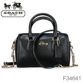 【送料無料】【COACH-コーチ-】2Way Shoulder Bag[F34641][レディース 2way ショルダーバッグ ハンドバッグ]