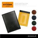 【送料無料】【2016】『Ettinger-エッティンガー-』Single Sided Pass Case Bridle Hide Collection〔BH040AJR〕[ メンズ カードケース パ