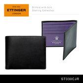 【送料無料】【2016】『Ettinger-エッティンガー-』Billfold with 6c/c Sterling Collection〔ST030CJR〕[ スターリング パープル メンズ 二つ折り財布 ]