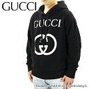 GUCCI グッチ Hooded sweatshirt with Interlocking G インターロッキング フード付き スウェットシャツ 長袖 メンズ[475374 X3Q25 1289]