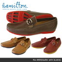 【予約】【送料無料】【hamilton-ハミルトン-】Leather Driving Shoes-レザー ドライビング シューズ-[4800][メンズ 靴 シューズ ローファー スリッポン]《ご注文後