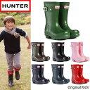 【LaG スーパーSALE】【Hunter-ハンター-】Original Kids-ハンターオリジナルキッズレインブーツ-[W23500][キッズブーツ・レインブーツ・レインシューズ・子供用長靴]