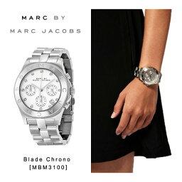 【予約】【送料無料】『Marc by MarcJacobs-マークバイマークジェイコブス』Blade Chrono 腕時計[MBM3100][時計 並行輸入品 レディース ユニセックス ブレード クロノグラフ ビジネス]《ご注文後3日前後発送予定》