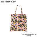 【メール便可】『Marimekko-マリメッコ』 Pieni Hattarakukka Bag トートバッグ-[067570][44×43cm エコBAG]■