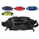 【対象アイテム5%OFFクーポン配布中!8/15迄】patagonia パタゴニア Black Hole Waist Pack 5L 49281