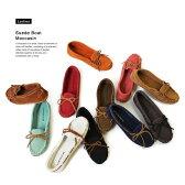 【11color】『Pompadour-ポンパドール-』Suede Boat Moccasin-スウェードボートモカシンシューズ-[レディース 靴 フラット ぺたんこ パンプス スニーカー]■