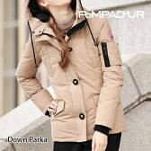 『Pompadour-ポンパドール-』Down Parka -ダウンパーカー-[レディース メンズ ユニセックス ダウンコート ブルゾン フード取外し可]