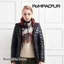 【送料無料】『Pompadour-ポンパドール-』Reversible Down-リバーシブル ダウンコート-[レディース アウター ダウンジャケット 迷彩柄 ...