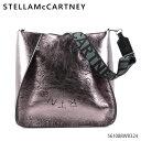 【500円OFFクーポン対象】STELLA McCARTNEY ステラマッカートニー Mini Crossbody Stella Logo Eco Metallic Alter Nappa レディース ショルダーバッグ ナパ メタリック[561088W8324]