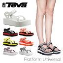 『TEVA-テバ-』Flatform Universal-フラットフォーム ユニバーサル-〔1008844〕[レディース サンダル スポーツサンダル ビーチサンダル..