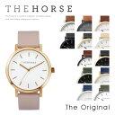 【送料無料】『The Horse-ザホース-』The Original 42mm [オリジナル 本革 レザーウォッチ レディース ユニセックス クオーツ ウォッ...