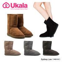 【予約】【Ukala-ウカラ-】Sydney Low-シドニー ロー ムートンブーツ-[W81002PP][レディース・ショート]《ご注文後5日前後発送予定》