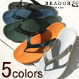 BRADOR BUGGY RUBBER SANDAL ブラドール BUGGY ラバーサンダル (5colors) 【返品交換不可】special priceCM