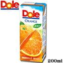 10円!!ドールオレンジ 100% 200ml※皆様、日頃お世話になっております。申し訳ございませんが、お一人様ご家族様1本まででお願いい..