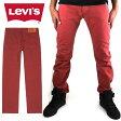 リーバイス Levis 501 オリジナルフィット ボタンフライ メンズ デニム パンツ ジーンズ レッド