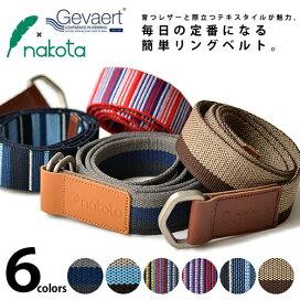 日本製造Nakota×GEVAERT美麗的魅力皮帶【日本製 Nakota×GEVAERTきれい魅力レザー ベルト】