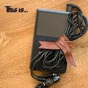 ショッピングthis This is... (ディスイズ) Leather Cable Band レザー ケーブル バンド レザーで飾る。自由に巻けるリボンバンド。 本革 革小物 日本製 アクセサリー メンズ レディース 留め具 プレゼント 男女兼用 ユニセックス