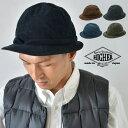 ショッピングネイル HIGHER ハイヤー COEDUROY SNAIL HAT コーデュロイスネイルハット 帽子 メンズ レディース
