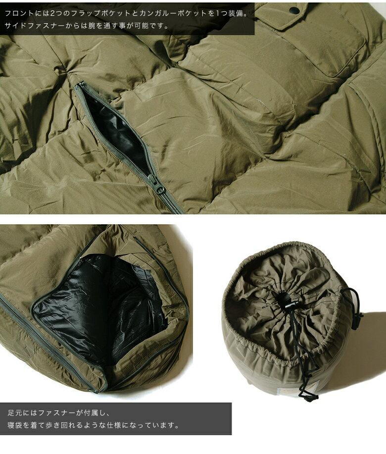 【楽天市場】FICOUTURE(フィクチュール) WASHING NYLON SLEEPING BAG 寝袋 ナンガ ...