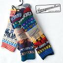 ANONYMOUS ISM(アノニマスイズム)グアテマランクルーソックス 靴下 メンズ 日本製