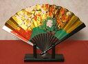 日本の伝統美金箔地飾り扇子(小)梅