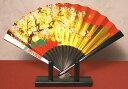 日本の伝統美金箔地飾り扇子(小)桜