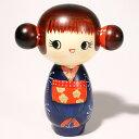 【再入荷】こけし ごきげん c273こけし 創作こけし 日本の伝統 人形 日本製 手作り インテリア お土産 kokeshi - 京都 洛〜伝統となごみの和雑貨