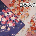 和ハンカチ2枚入しだれ桜・コンシロ【楽ギフ_包装選択】ホワイ...
