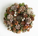 [Fairy] The glitter lease / pinecone / Christmas wreath S/ small