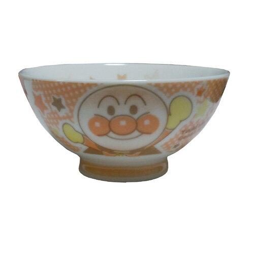 キャラクター 茶碗 アンパンマン サイズ110パイX55mm オレンジ色 食器 キッズ 子供用 陶器 おわん プレゼント キャラクター食器