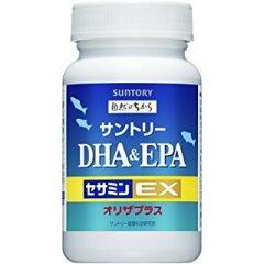 サントリー DHA&EPA+セサミンEX 1個(120粒) SUNTORY 送料無料 【定形外郵便】※3個以上購入を希望される方は、3個セットの商品ページからご購入ください。